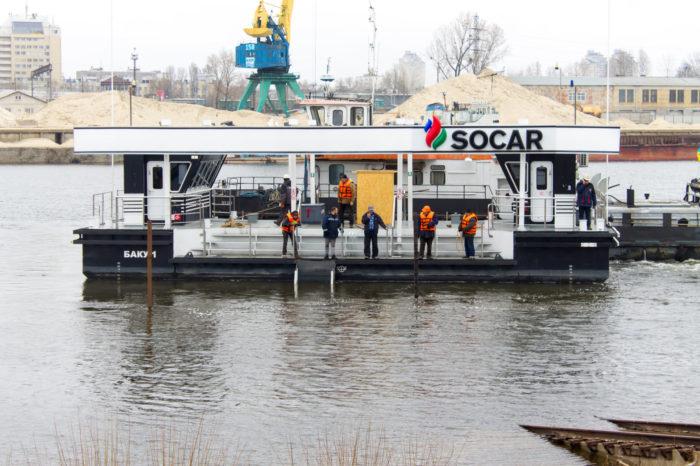 Киевский ССРЗ проведет осмотр бункеровщика «БАКУ-1» спустя 10 лет после постройки
