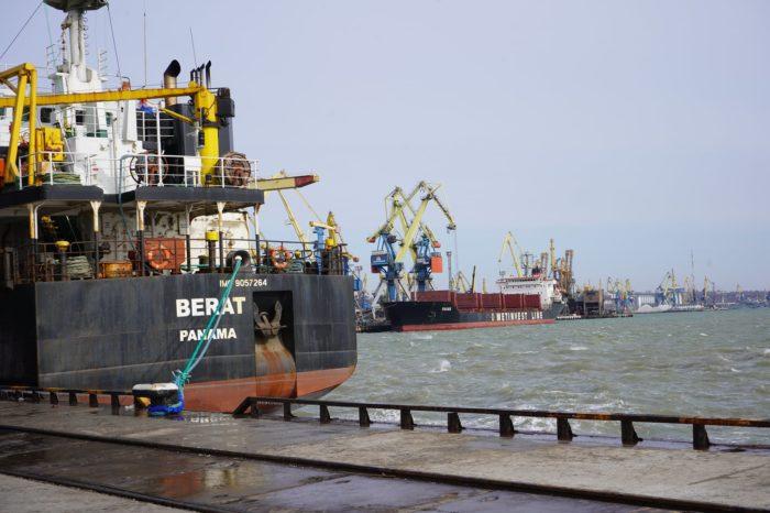 С начала месяца Мариупольский порт обработал 34 судна