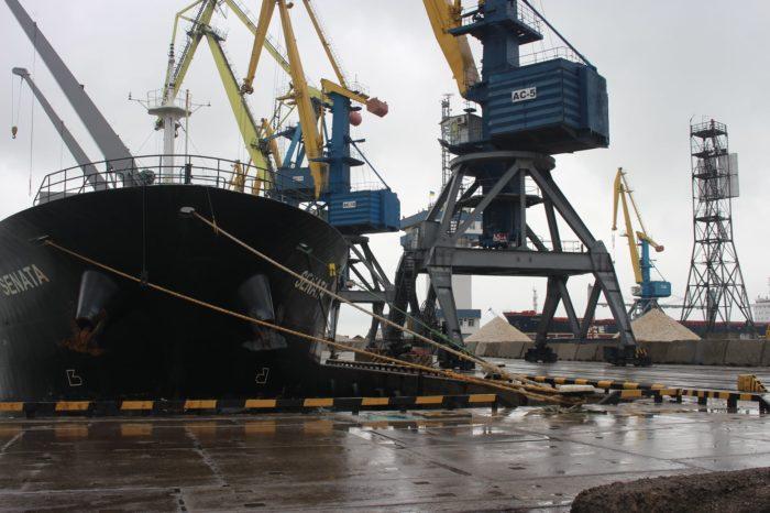 С начала месяца Мариупольский порт обработал 49 судов
