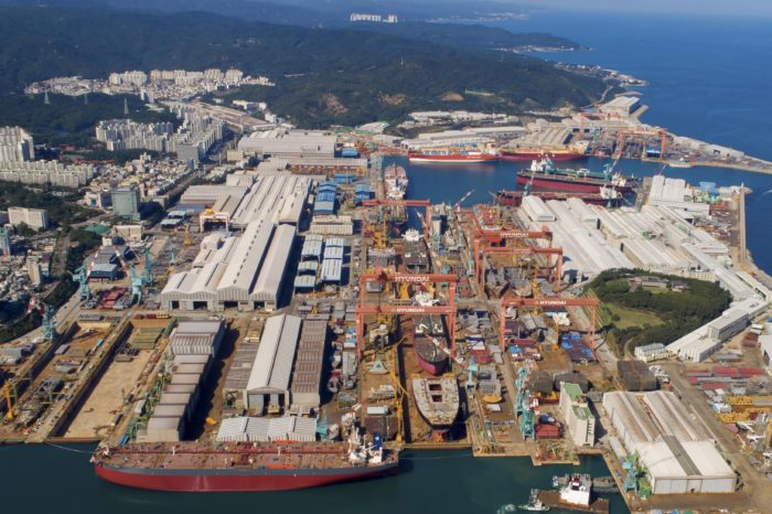 Южная Корея остается лидером мирового судостроения