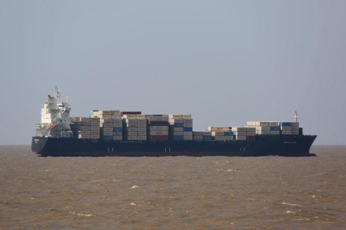 Иранский контейнеровоз атаковали в Средиземном море