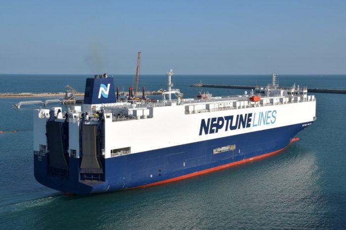 Видео дня: судозаход Neptune Thalassa в порт Хайфы