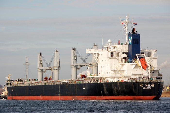 В порту Черноморск за трое суток отгрузили почти 57 тыс. тонн стальной заготовки