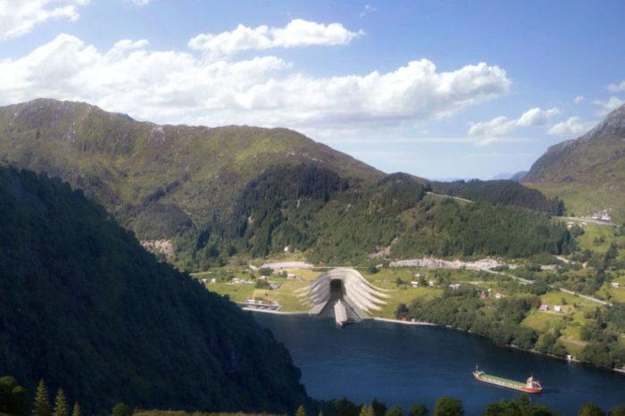 В Норвегии построят первый в мире морской тоннель для судов