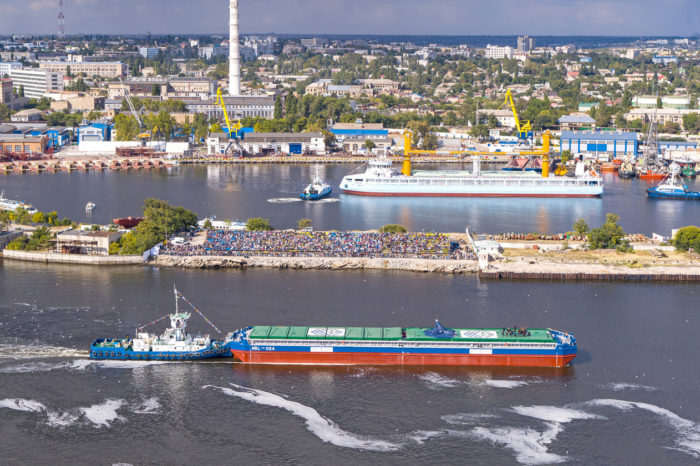 В феврале «Нибулон» отгрузил на экспорт более 447 тыс. тонн зерна