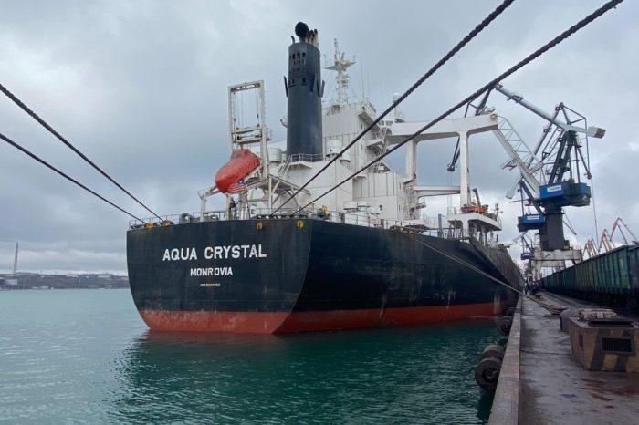 В порту «Южный» обработали 50 судов с начала 2021 года