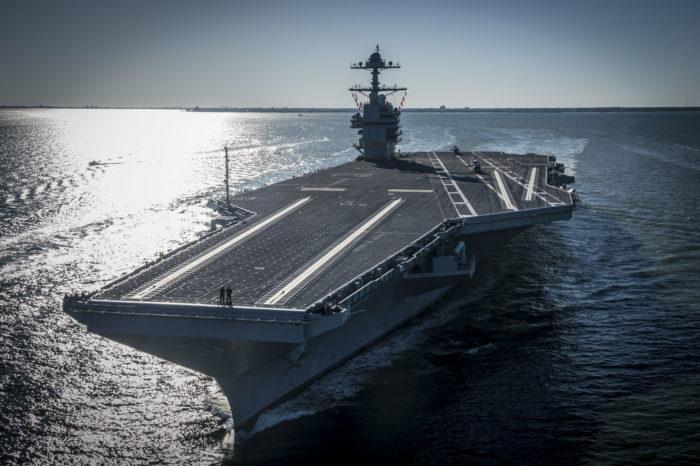 Самое дорогое военное судно в мире (ВИДЕО)