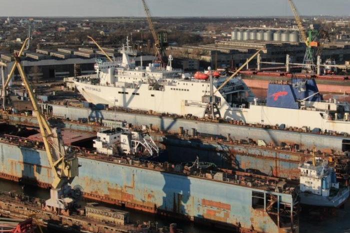 Фото дня: ЧАО «Ильичевский судоремонтный завод» в Черноморске