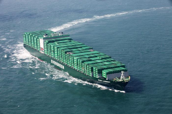 Компания Evergreen готова заказать постройку 20 контейнеровозов