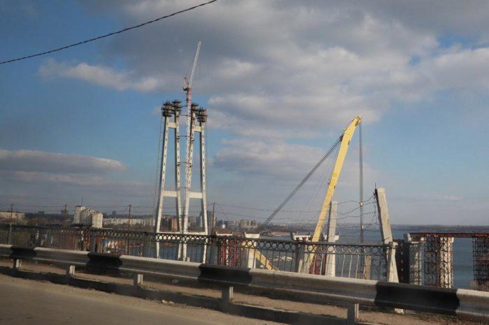 Стройка запорожских мостов на навигацию не повлияет