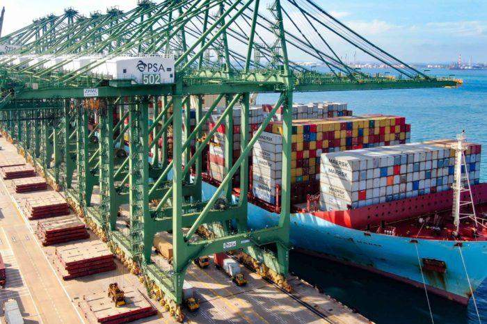 Maersk, Braskem и PSA создадут логистический хаб в Сингапуре