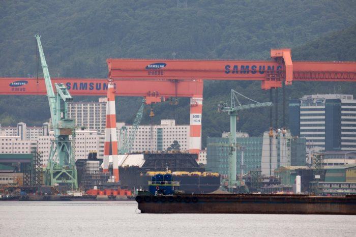 Samsung Heavy Industries построит 20 контейнеровозов за 2,5 млрд