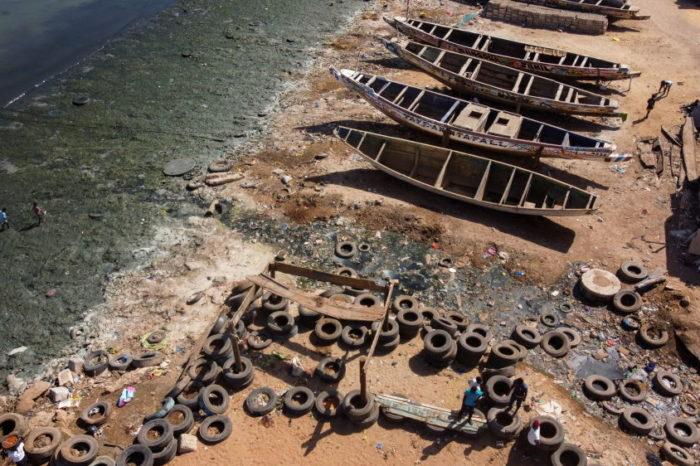 Фото дня: как выглядят загрязненные воды по всему миру с высоты