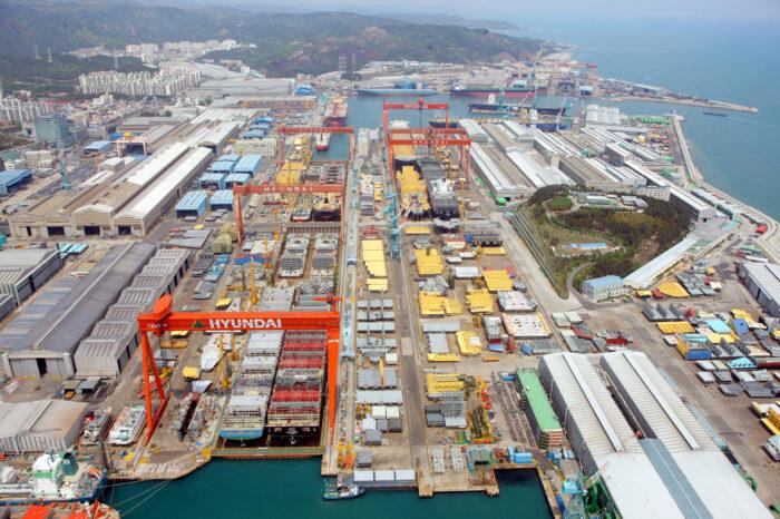 Азиатские судоверфи загружены заказами на новострои до 2024 года