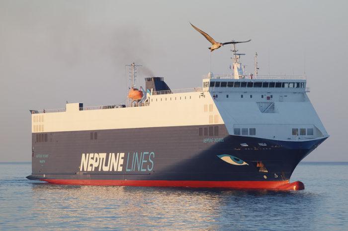 Neptune Okeanis привез в Черноморск кран из США