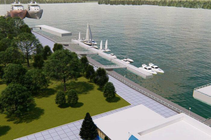 В акватории Измаильского порта построят стоянку для маломерных судов