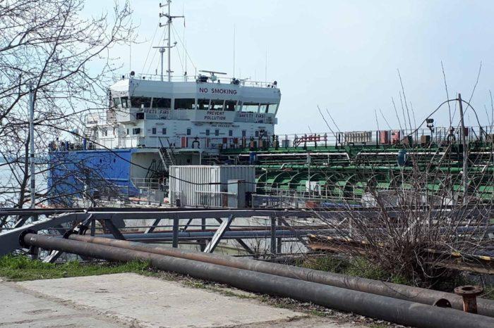 В порт Рени впервые зашел танкер «Professor Aziz Aliyev» с малайзийским дизтопливом