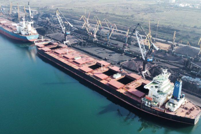 В «МТП «Южный» поставили рекорд по скорости обработки судна