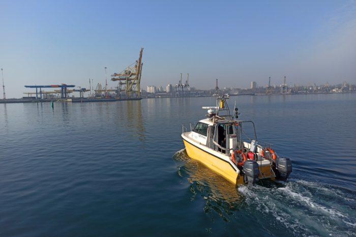 Госгидрография выполняет промерные работы в акватории порта Черноморск (ФОТО)