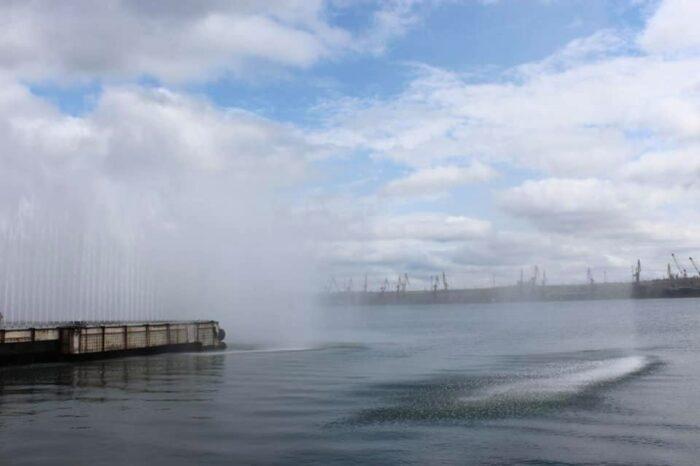 В порту Пивденный отработали гражданскую защиту (ФОТО)