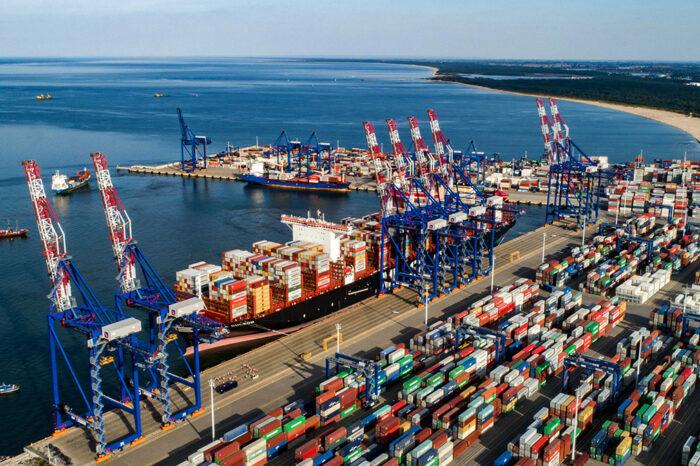 За 3 месяца порт Гданьск перевалил более 500 тыс. TEU
