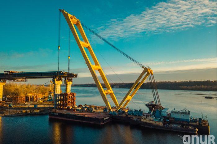 Строительство мостов в Запорожье скажется на речной навигации