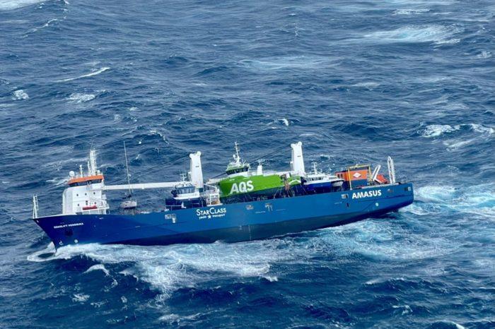 С дрейфующего Eemslift Hendrika упало судно за 6,6 млн евро