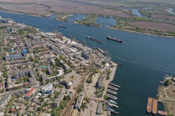 Грузооборот Херсонского морского порта снизился на 35%