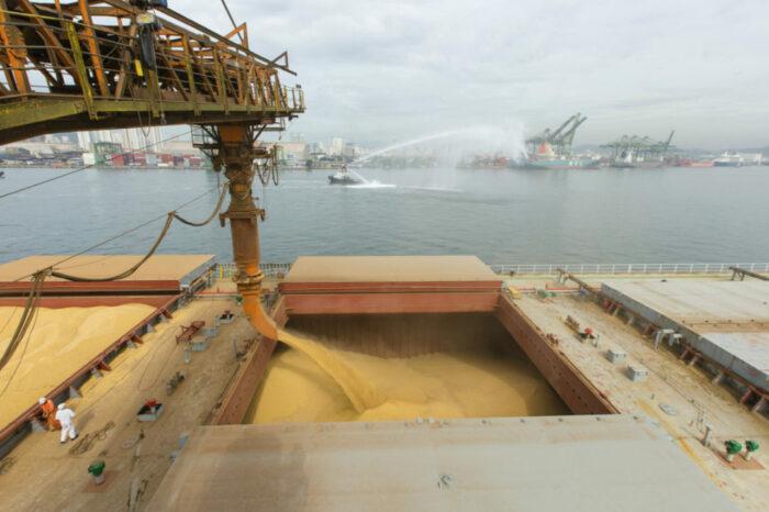 В украинских портах подешевела перевалка зерновых