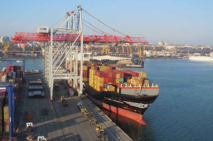 В Одесском порту переваливают 70% контейнерных грузов в стране