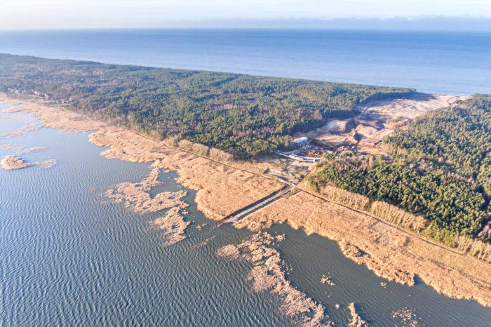 В Польше строят канал через Балтийскую косу в обход РФ
