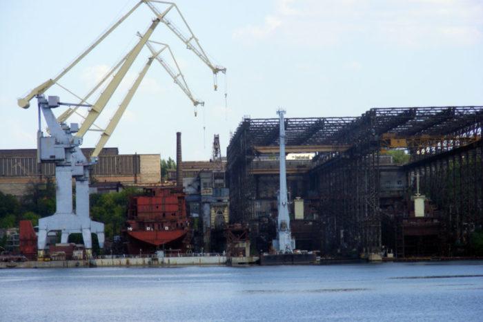 Николаевский судостроительный завод готовят к демилитаризации