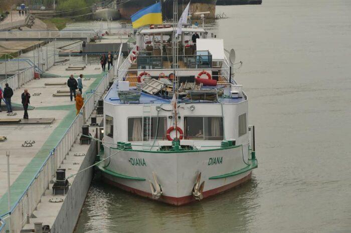 Измаильский морвокзал принял круизное судно из Румынии