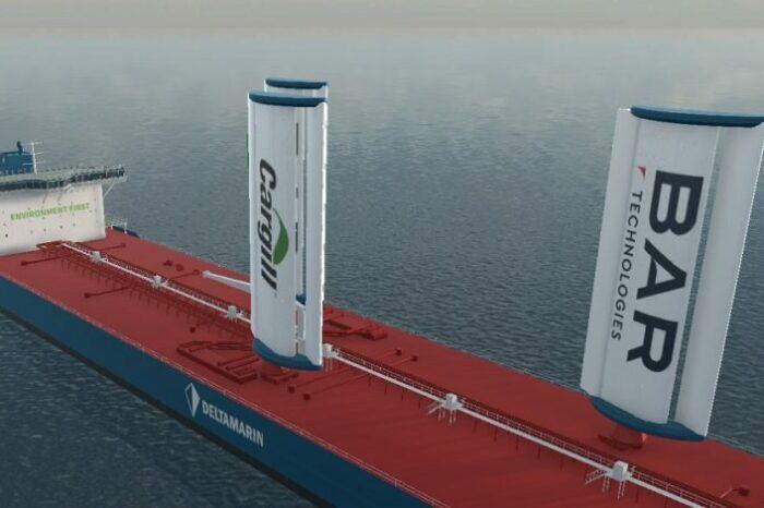 Демонстрационное грузовое парусное судно хотят создать в Великобритании