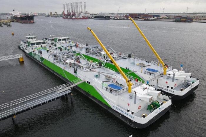 Titan LNG построит баржу на СПГ