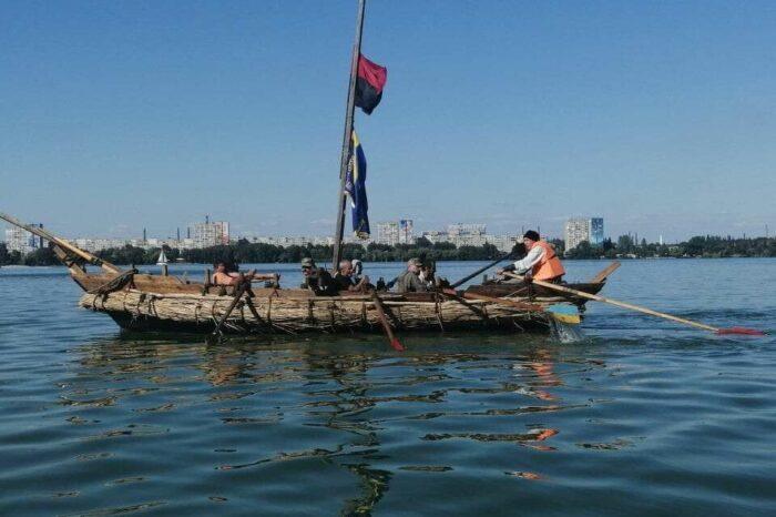 В Днепре спустят на воду боевое казацкое судно