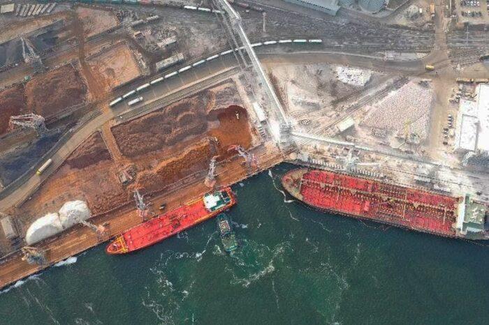 Арестованный ильменит останется в порту Черноморск