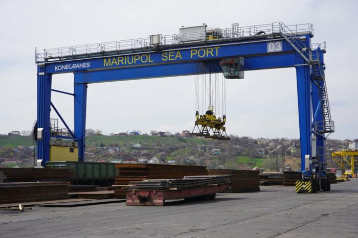 В Мариупольском порту с начала мая перевалили более 70 тыс. тонн грузов