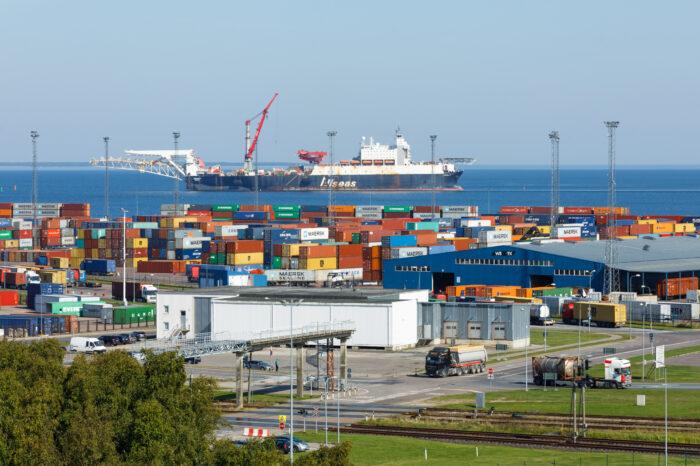 Таллиннский порт вводит новые экологические нормы для судов