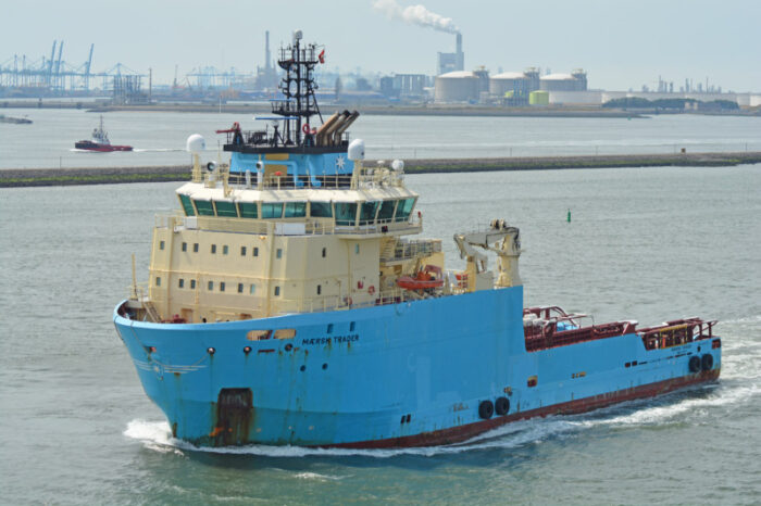 Maersk Supply задействует уже второе судно для очистки океана