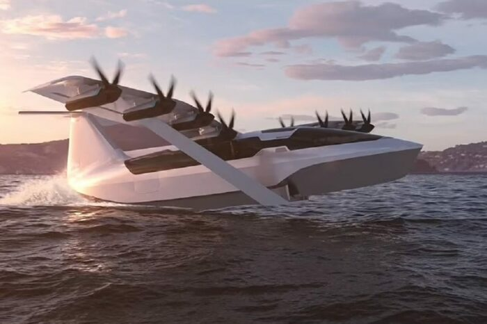 В США создали катер-самолет для перевозки пассажиров вдоль побережья
