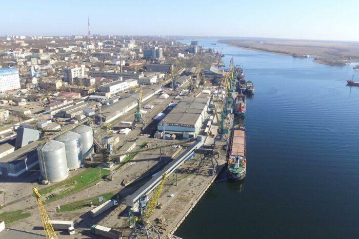 Херсонский порт вводит нотификацию для судов, следующих по Днепру