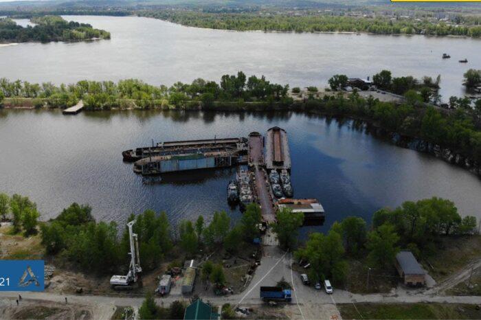 У Кременчугского речного порта заберут часть территории