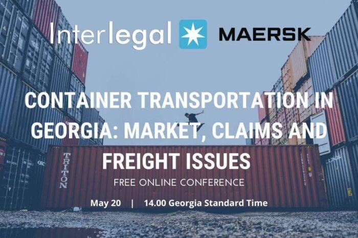 Interlegal и Maersk Line предлагают обсудить контейнерные перевозки в Грузии и Украине