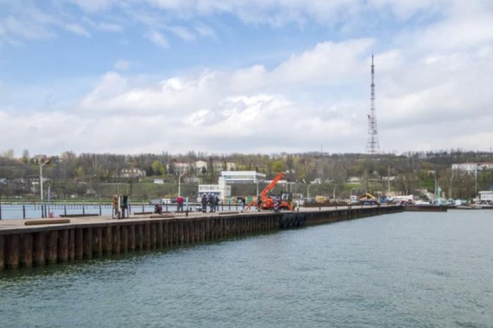 «Метинвест» направил 12 млн грн на ремонт пирса в Мариуполе