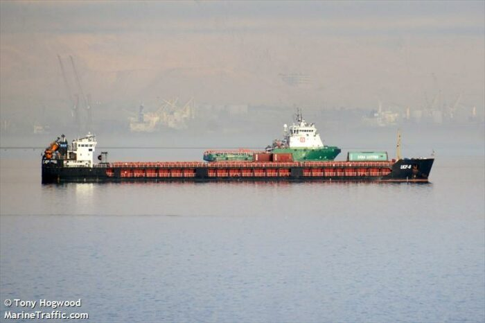 Deja vu: Russian dry cargo vessel ran aground and blocked the shipping channel