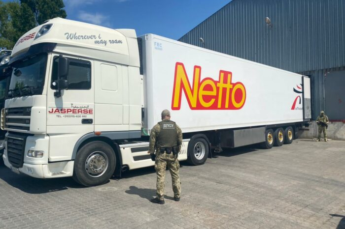 A truck with contraband was detained in the port of Chornomorsk (VIDEO)