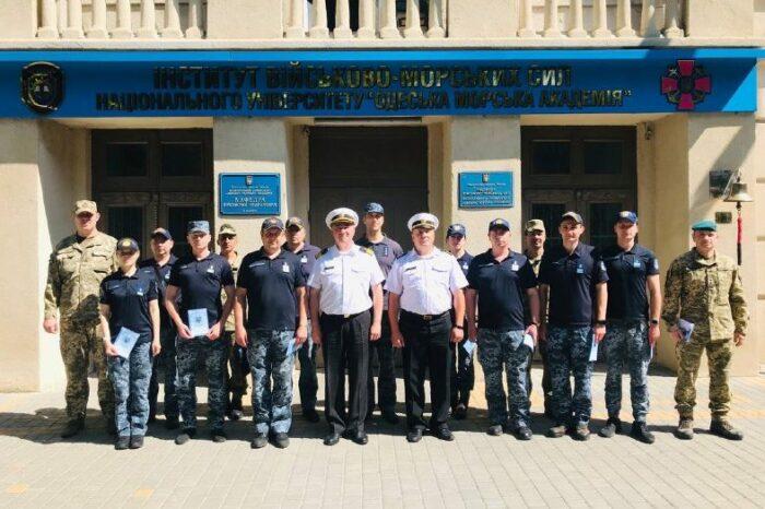 В Одессе военные моряки получили языковые сертификаты по стандартам НАТО