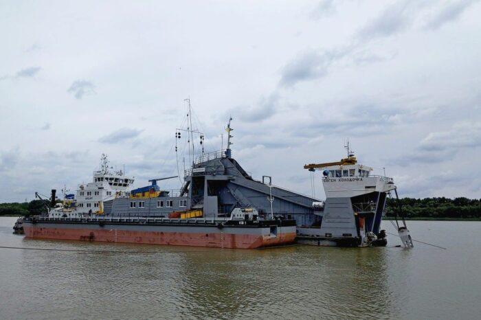 АМПУ начала дноуглубление в порту Измаил