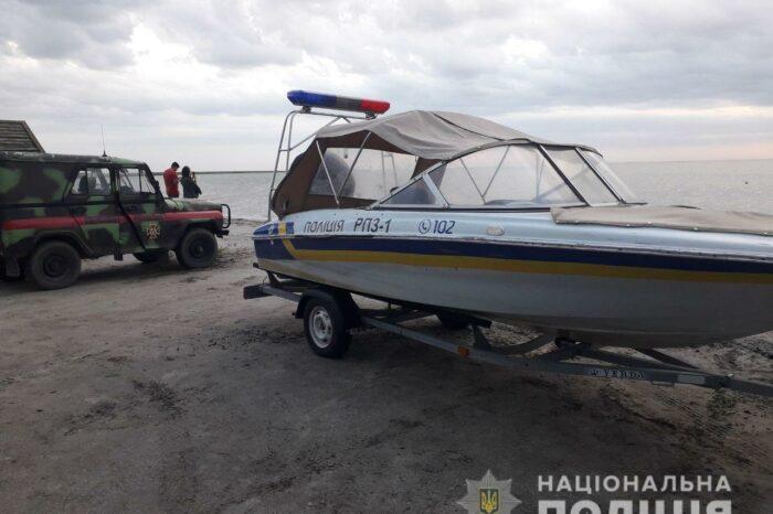 Катер с 14 пассажирами спасли в Запорожской области